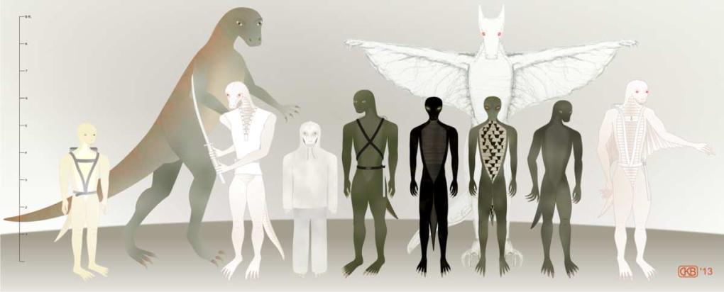 Les extraterrestres de type Reptiles-similaires : les Reptiliens, Draco-reptiliens, les hybrides Reptiliens, etc