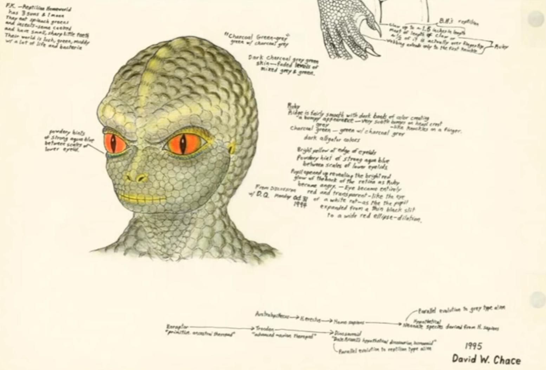 Dossier LACERTA : Véritable interview d'une Reptilienne?
