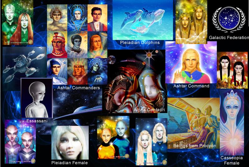 Représentations d'extraterrestres et galactiques