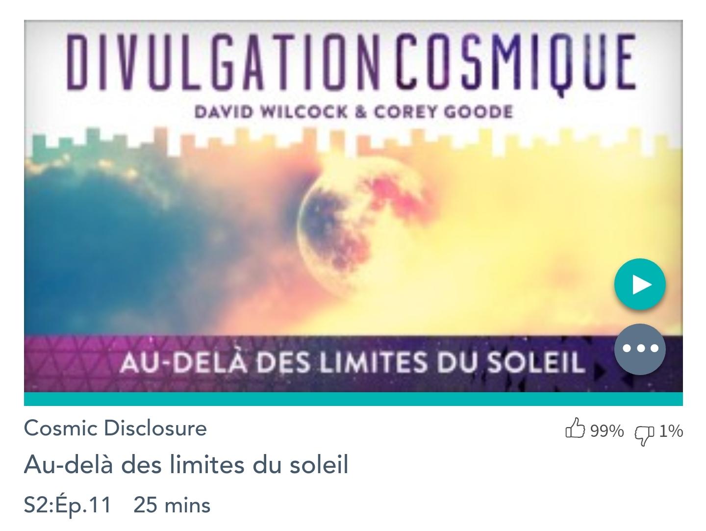 Émission «DIVULGATION COSMIQUE», l'intégrale. Saison 2, épisode 11/17 : AU-DELÀ DES LIMITES DU SOLEIL