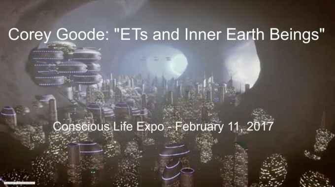 Présentation de Corey Goode: Extraterrestres et êtres de la Terre Intérieure