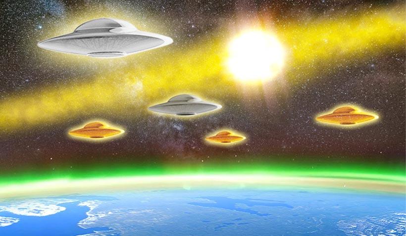 Vidéo du jour : «OVNI» les galactiques sont là et nous le font savoir!