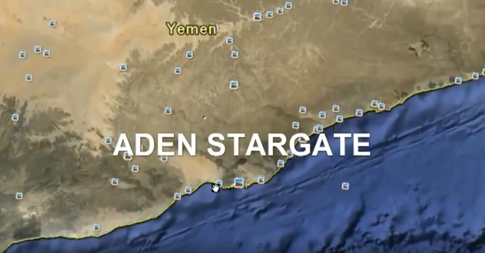 Stargate du Golf d'Aden – Aaron McCollum