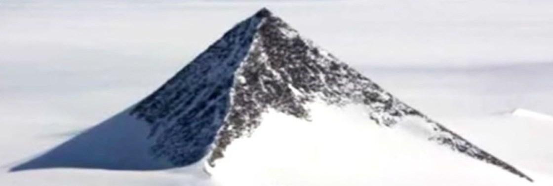 La montagne antarctique, la plus ancienne pyramide de la Terre construite par des extraterrestres, d'après la rumeur
