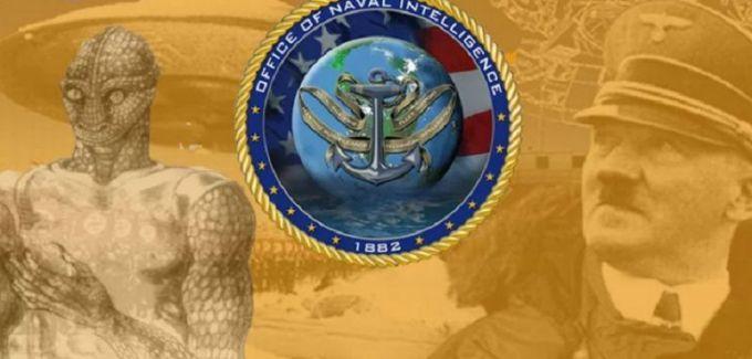 La marine américaine a compris l'alliance secrète des nazis avec les Reptiliens, au cours de la Seconde Guerre mondiale