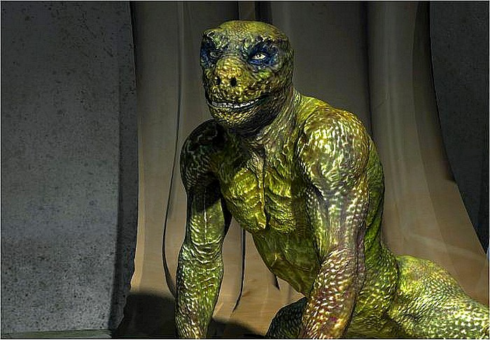 Le Reptilien repenti