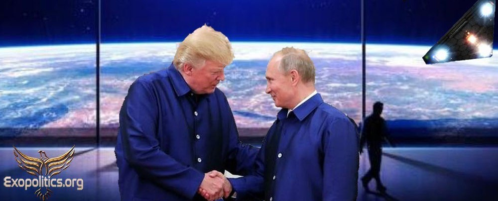 La grande image (exopolitique) derrière l'histoire de collusion de Trump avec Russie & de son effondrement
