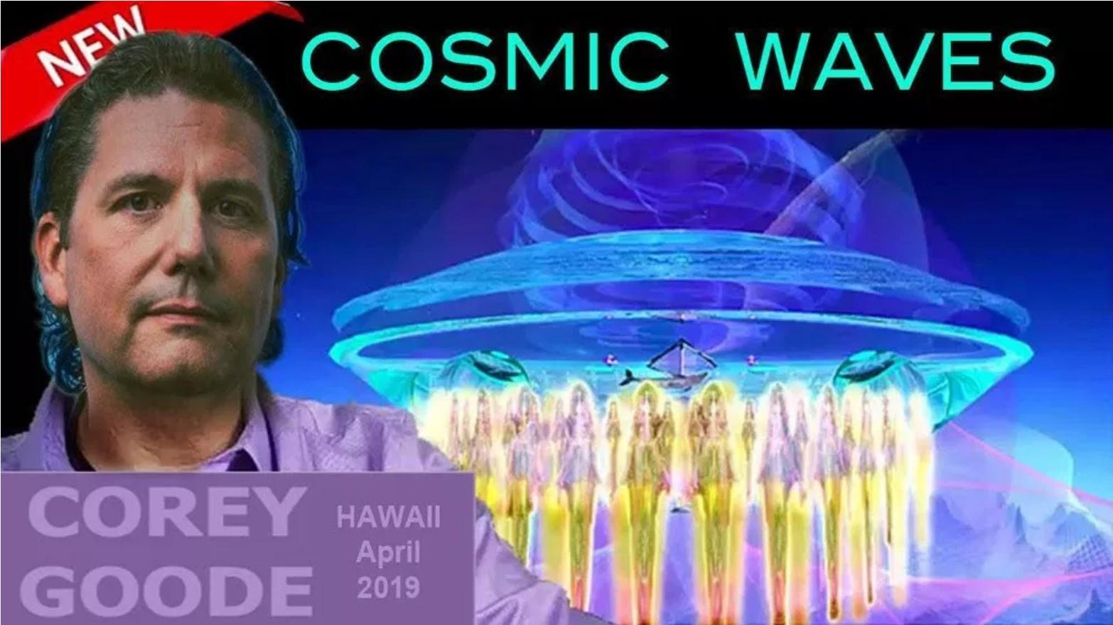 Se préparer à la divulgation et aux flashs solaires – Corey Goode à Cosmic Waves