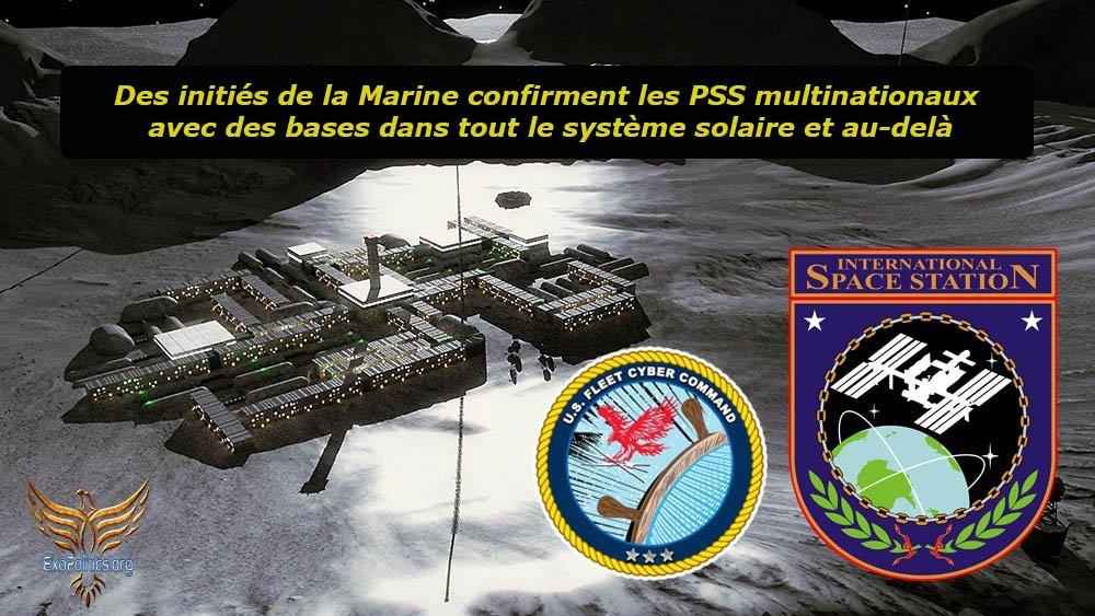 Des initiés de la Marine confirment les PSS multinationaux avec des bases dans tout le système solaire et au-delà