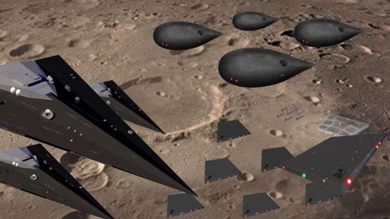 Présentation de 6 factions des différents programmes spatiaux secrets