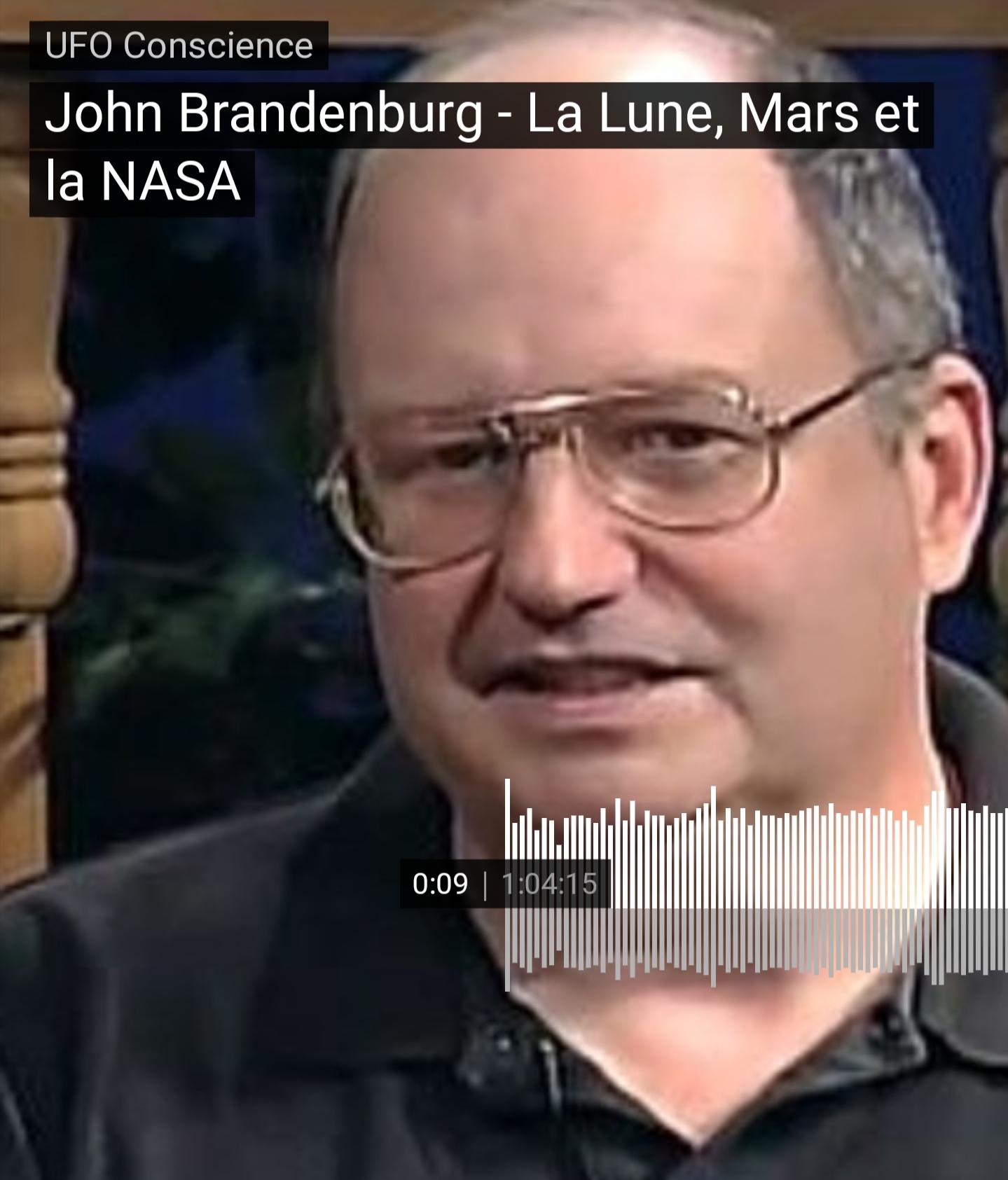 ÉMISSION «UFO CONSCIENCE» : John Brandenburg – la Lune, Mars et la NASA