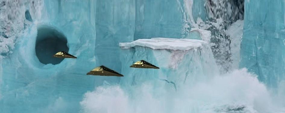 Révélations sur des batailles provoquées par les fouilles secrètes en Antarctique : la course aux artéfacts Aliens fait rage