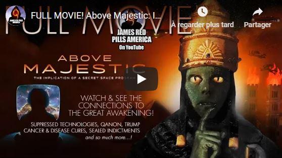 Résumé par ROBERT STEELE du célèbre documentaire «AU-DESSUS DE MAJESTIC» (produit par Corey Goode et Jordan Sather et réalisé par Roger Richards)