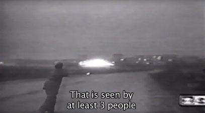 Preuves de l'atterrissage filmé d'un OVNI à Ostankino en 1995 !