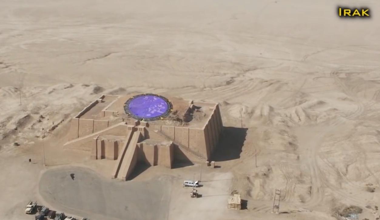 Une StarGate (porte des étoiles) en Irak