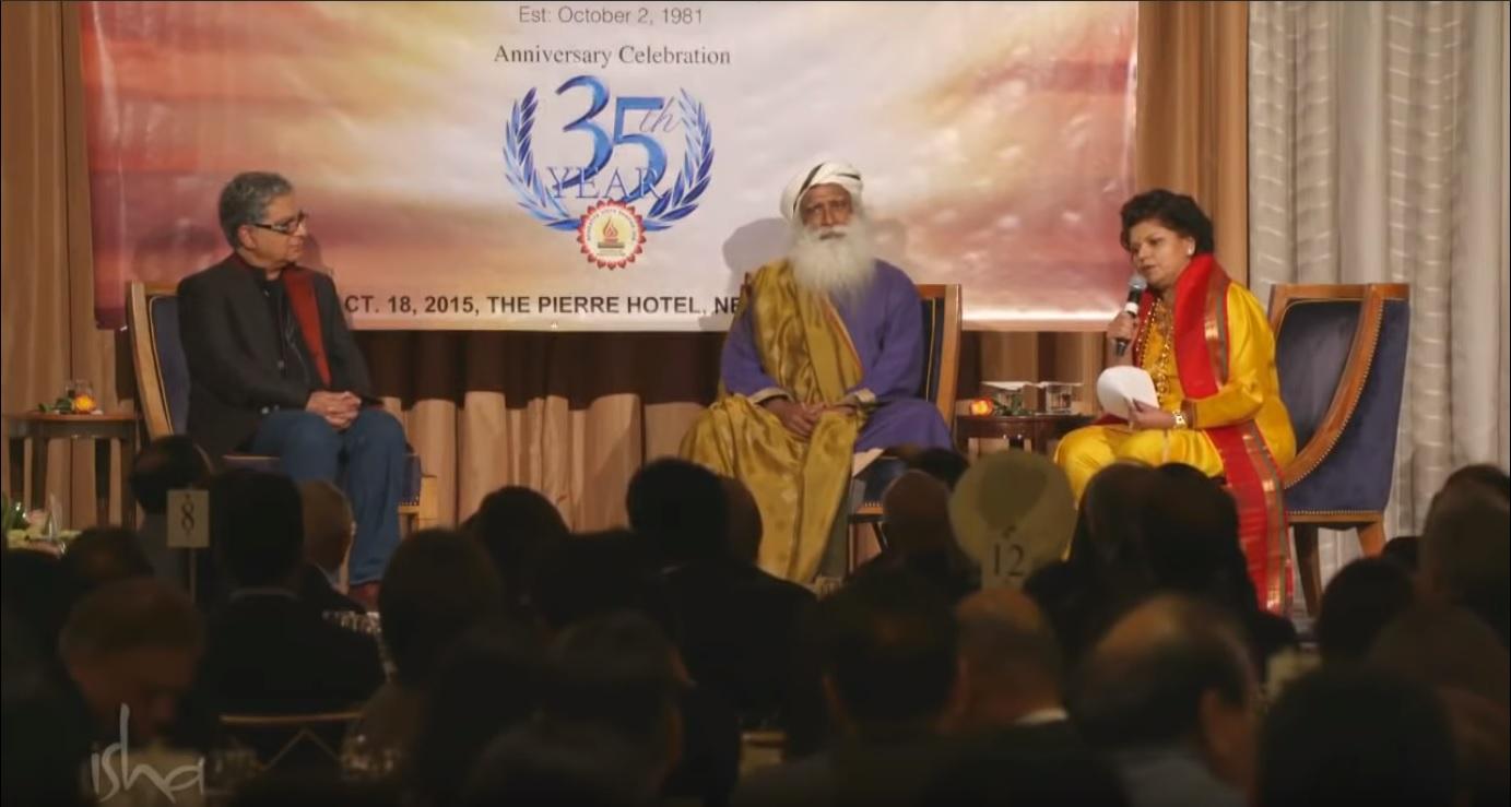 Deepak Chopra & Sadhguru Vivre la sagesse ancienne [ En Français]