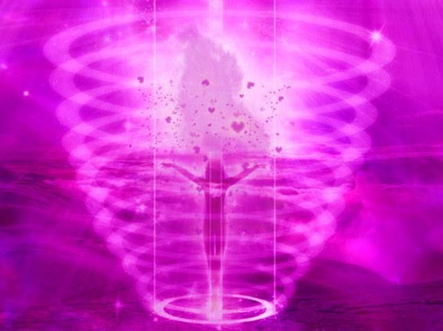 La Flamme Violette : transmutation des énergies