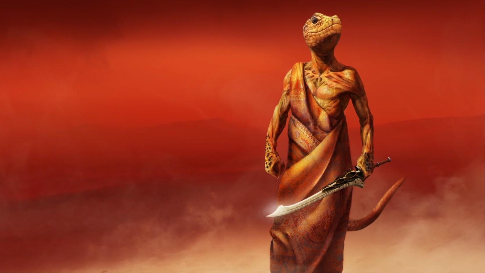 Reptilien de Mars par Andy Cramer 2