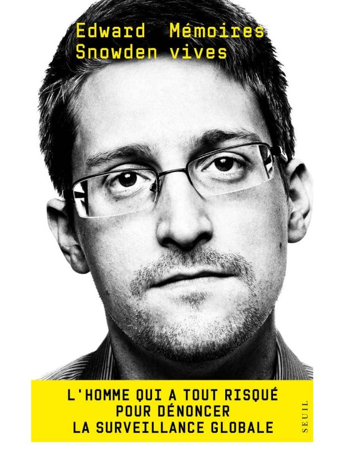 Le livre que le gouvernement ne veut pas que vous lisiez (MÉMOIRES VIVES d'Edward Snowden), vient de devenir le numéro 1 mondial