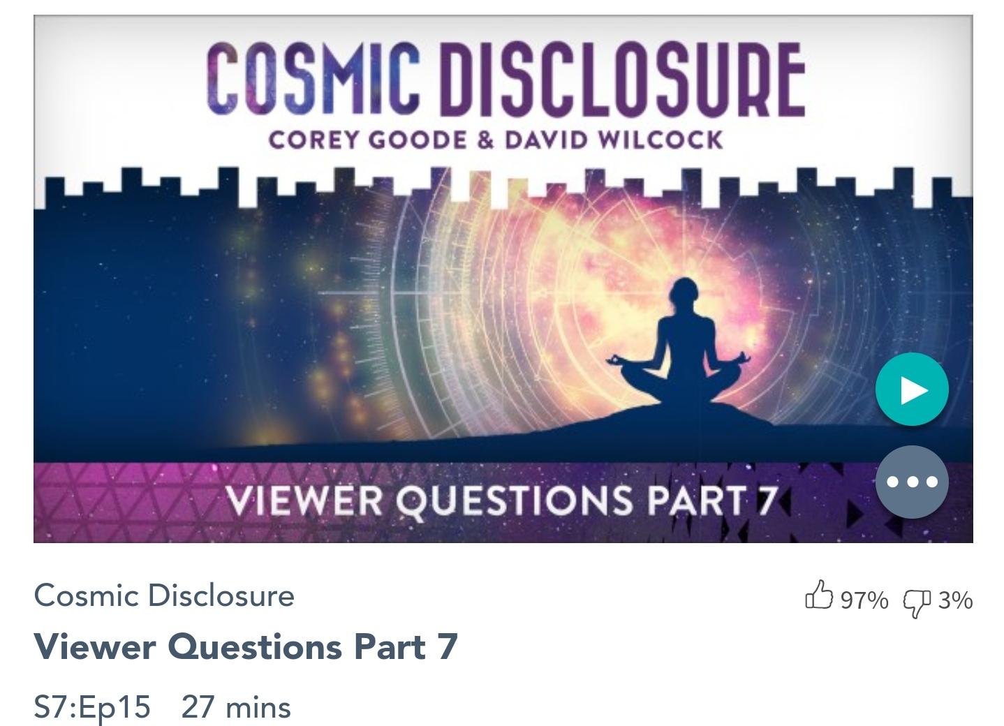Émission « DIVULGATION COSMIQUE », l'intégrale. Saison 7, épisode 15/32 : QUESTIONS DES TÉLÉSPECTATEURS – PARTIE N°7
