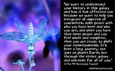 Vos voyages dans la galaxie ∞Le Conseil Arcturien 9D