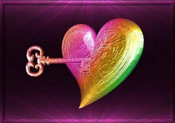 En votre coeur se trouve la clé