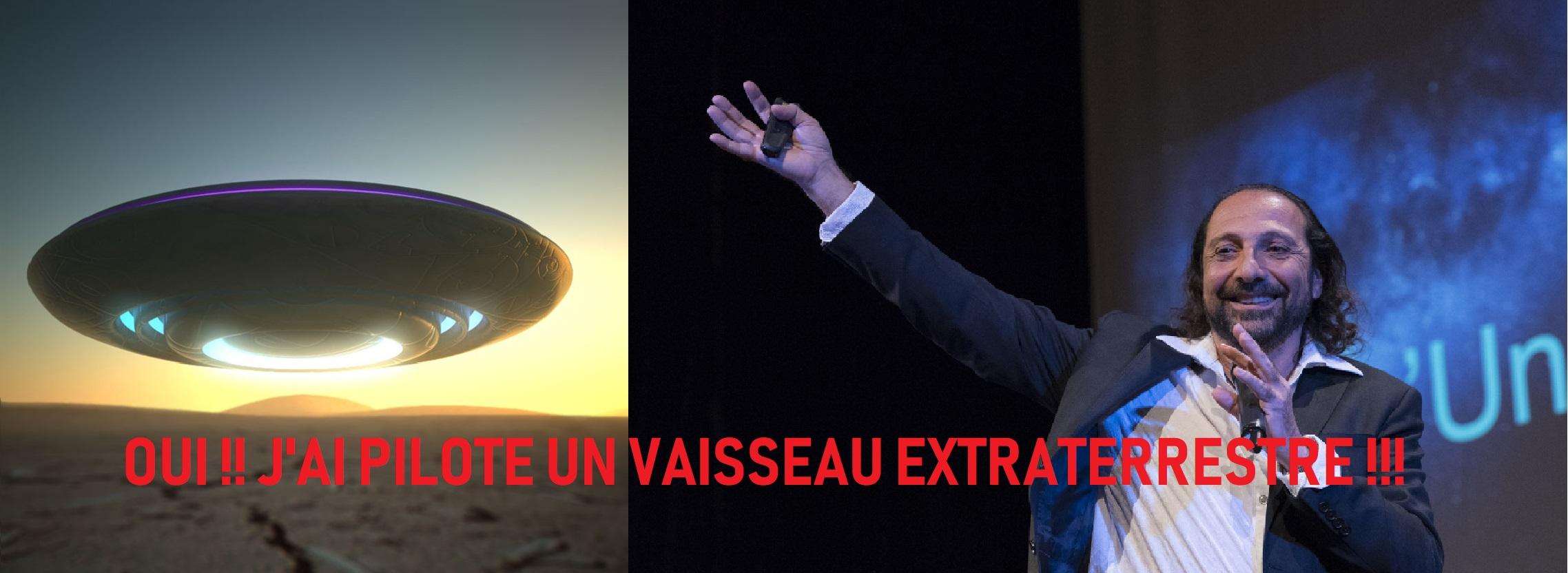 EXCLUSIF!!! LE CÉLÈBRE PHYSICIEN NASSIM HARAMEIN RÉVÈLE AVOIR PILOTÉ UN ENGIN EXTRATERRESTRE DÈS L'AGE DE 8 ANS !!!
