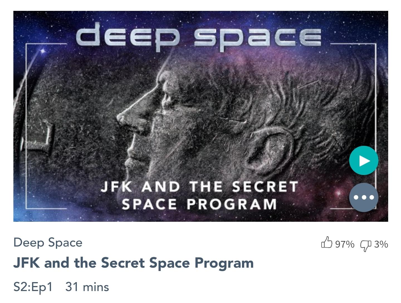 J.F. Kennedy et le Programme Spatial Secret