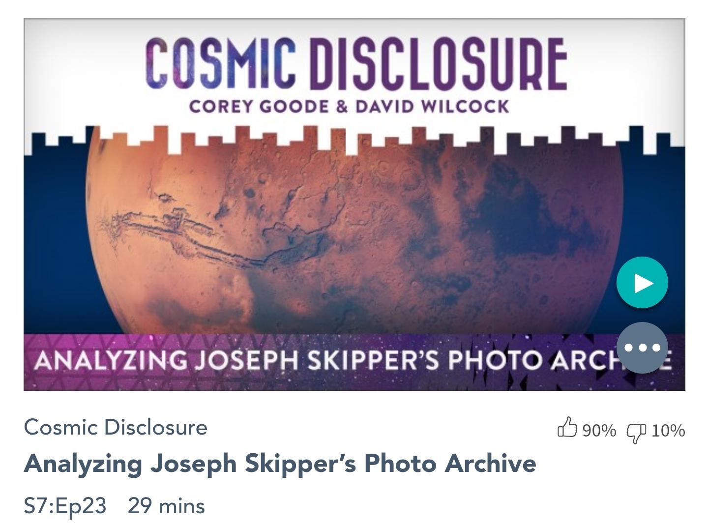 Émission « DIVULGATION COSMIQUE », l'intégrale. Saison 7, épisode 23/32 : ANALYSE DES ARCHIVES PHOTOS DE JOSEPH SKIPPER