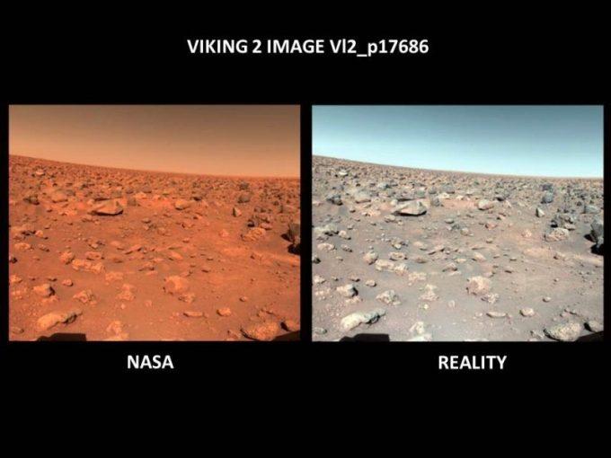 La NASA a trouvé de la Vie sur Mars il y a 40 Ans, mais l'a dissimulée pour des raisons politiques