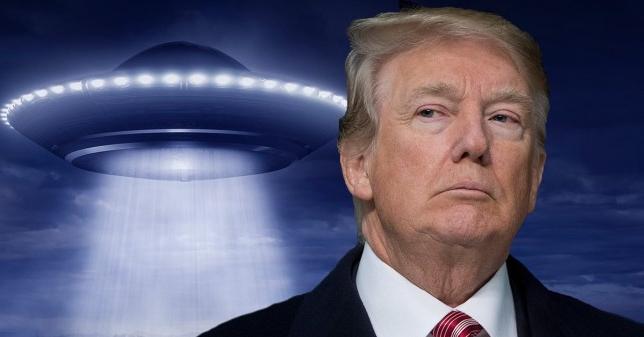 Le président Trump s'est exprimé à propos des ovnis : «Je ne suis pas croyant mais tout est possible!»