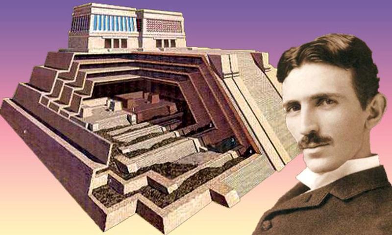 La connexion et similitudes des Pyramides et l'énergie de Tesla