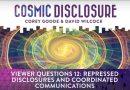 Émission « DIVULGATION COSMIQUE », l'intégrale. Saison 8, épisode 13/24 : QUESTIONS DES TÉLÉSPECTATEURS N°12 : LES DIVULGATIONS RÉPRIMÉES ET LES TRANSMISSIONS DE COMMUNICATION