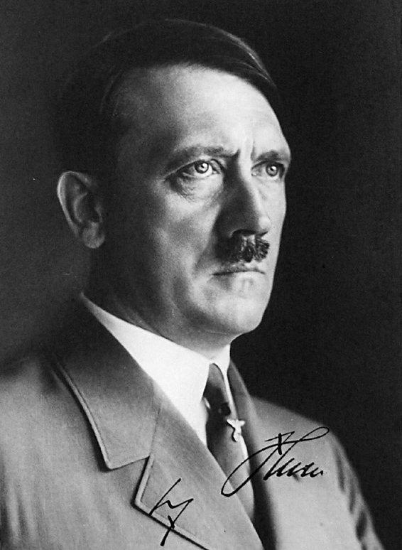 AdolfHitler-SignedPhoto-Germany-OccultHistoryThirdReich-PeterCrawford