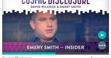Émission « DIVULGATION COSMIQUE », l'intégrale. Saison 9, épisode 1/8 : EMERY SMITH, LE NOUVEAU LANCEUR D'ALERTE