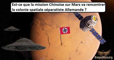 La mission Chinoise sur Mars rencontrera-t-elle une colonie spatiale allemande séparatiste?