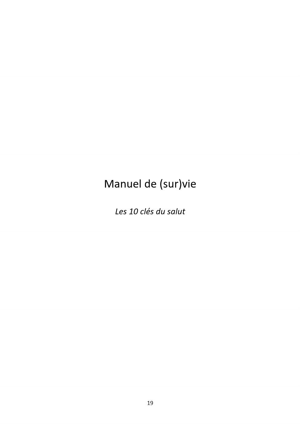 manuel de survie19