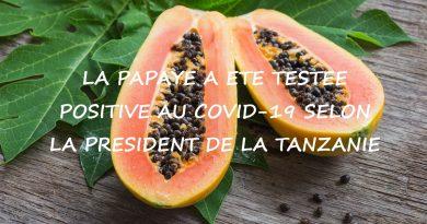 Une papaye a été testée positive au Covid 19, devrait-elle se faire vacciner ?