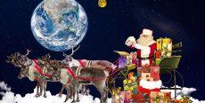 La Fédération Galactique et les Êtres de Gaïa vous offrent cette Bénédiction de Noël (diffusion en direct à 19h le 25/12/2020)